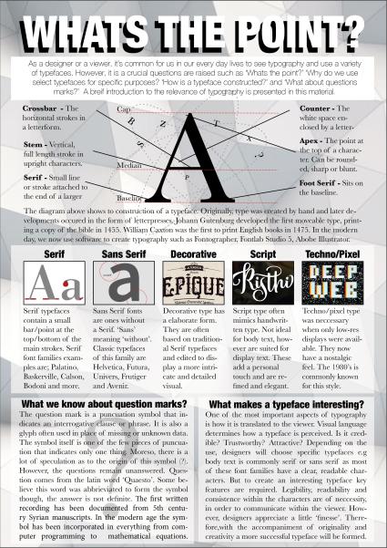 Assignment 4: Show Me… – Serapha's OCA Graphic Design Blog